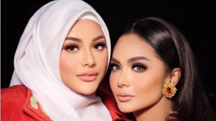 Aurel Hermansyah mengunggah foto berdua dengan ibunya, Krisdayanti, Rabu (11/8/2021).