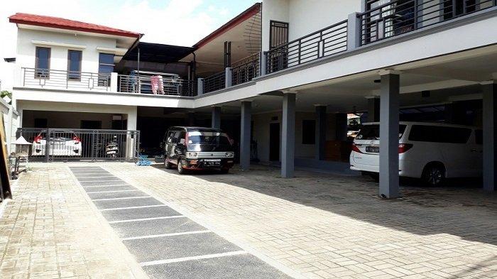 Rumah Ayu Ting Ting di kawasan Sukmajaya, Depok, Jawa Barat, Rabu (15/3/2017).