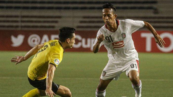 Hasil Babak Pertama Ceres Negros Vs Bali United di Piala AFC: Serdadu Tridatu Tertinggal 1 Gol