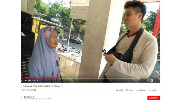 Baim Wong bertemu Nenek Iro seorang penjual gorengan.