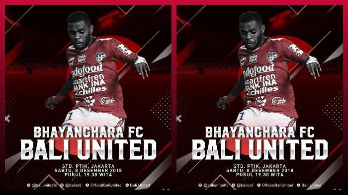 Daftar 18 Pemain Bali United untuk Laga Kontra Bhayangkara FC, Spaso Absen, Lilipaly Tampil