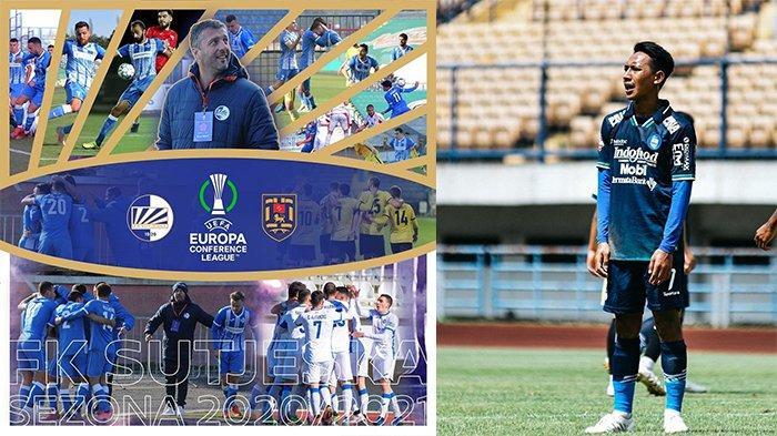 Jika Gabung FK Sutjeska, Gelandang Muda Lincah Persib Bandung Jadi Pemain Pertama Main di Liga Eropa