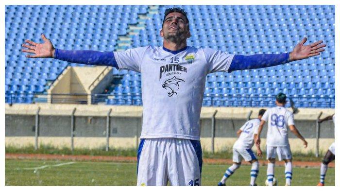 Akhirnya Debut bersama Persib Bandung, Fabiano Beltrame Serius Hadapi Laga Pramusim