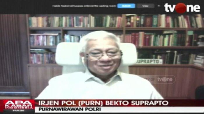 Sekretaris Kompolnas Irjen Pol (Purn) Bekto Suprapto menanggapi penangkapan eks Sekretaris Umum Front Pembela Islam (FPI) Munarman, Jumat (30/4/2021).