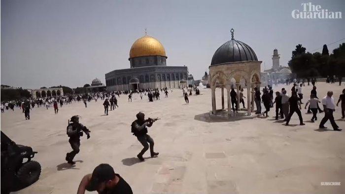 Kronologi Palestina dan Israel Kembali Bentrok di Masjid Al-Aqsa, Terjadi setelah Gencatan Senjata