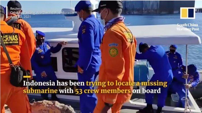 Media Asing Soroti Sisa Oksigen di Kapal Selam KRI Nanggala-402, Warganet Ramai Mendoakan