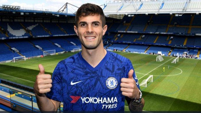 Bintang baru Chelsea, Christian Pulisic.