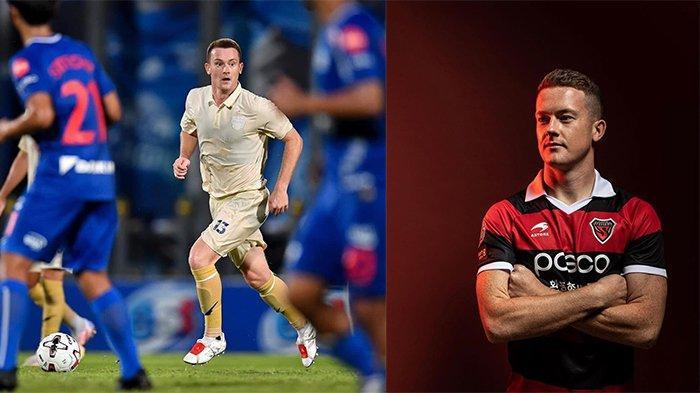 Brandon O'Neil (kiri) pada postingan Instagram @brandononeill94 pada 27 Desember 2020 dan Brandon O'Neil (kanan) pada postingan Instagram @brandononeill94 pada 15 Februari 2020. Calon pengganti Farshad Noor di Persib Bandung.
