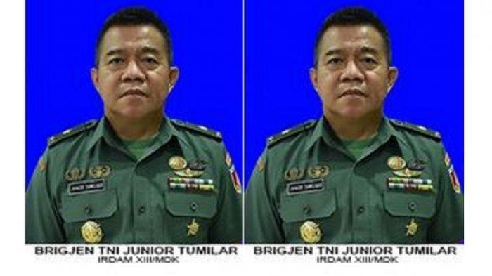 Sosok Brigjen TNI Junior Tumilaar, Jenderal Bintang 1 yang Viral Surati Kapolri, Ini Rekam Jejaknya