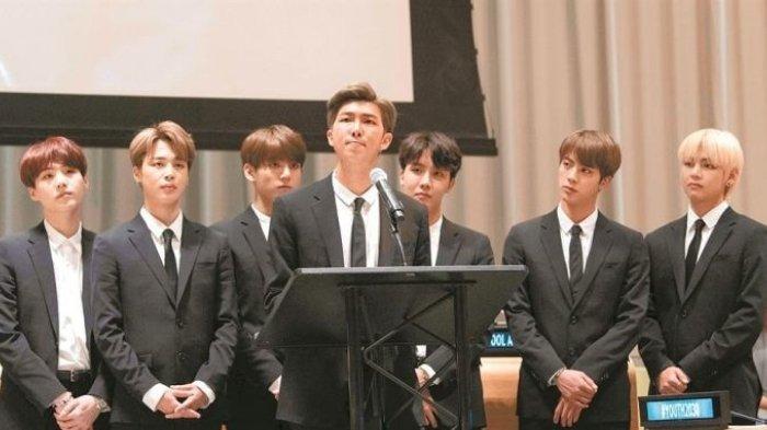 BTS akan Pidato di Sidang Umum PBB Malam Nanti, Berikut Link Live Streamingnya