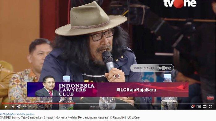 Sudjiwo Tedjo Kritik Para Narasumber ILC yang Tertawa Dengar Petinggi Sunda Empire: Saya Sayangkan