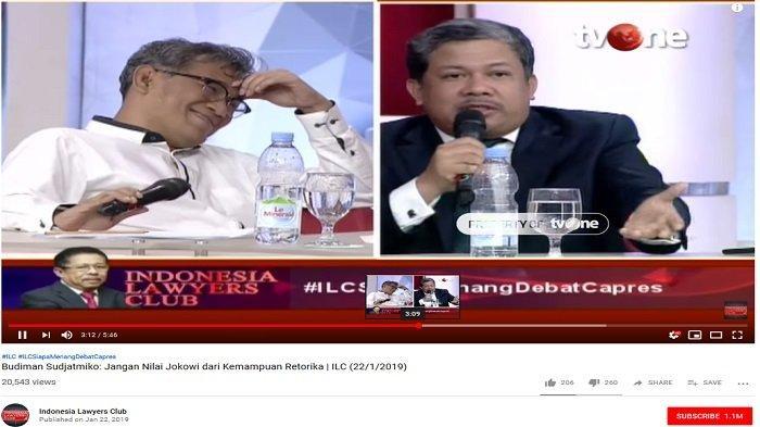 Potong Omongan Budiman Sudjatmiko, Fahri Hamzah: Saya Lagi Manasin Prabowo, Tidak Usah Tersinggung