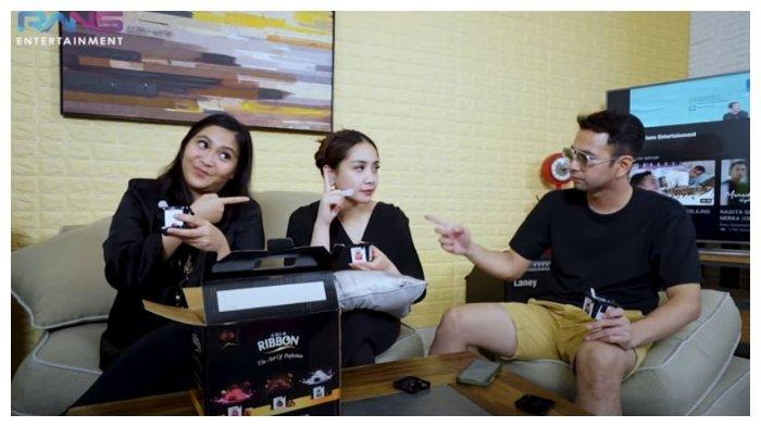Caca Tengker, Nagita Slavina, dan Raffi Ahmad, Jumat (9/10/2020).