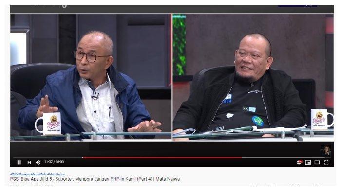 Debat dengan Refrizal, La Nyalla Blak-blakan Ungkap Jumlah Utang PSSI, hingga Kini Belum Lunas