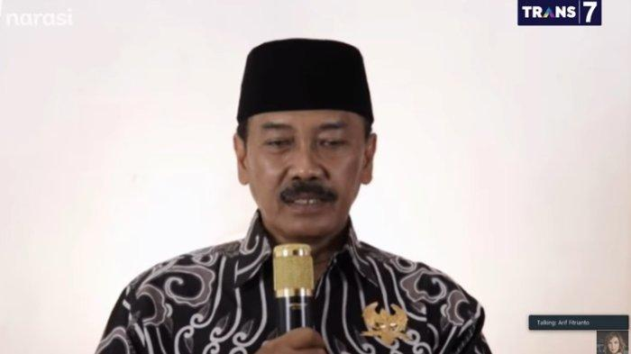 Calon Wali Kota Solo Bagyo Wahyono saat diundang dalam acara Mata Najwa, Rabu (30/9/2020).