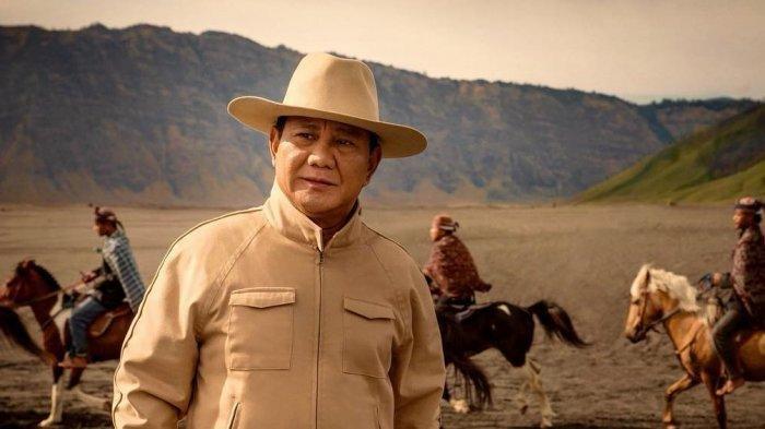 Capres nomor urut 02, Prabowo Subianto.