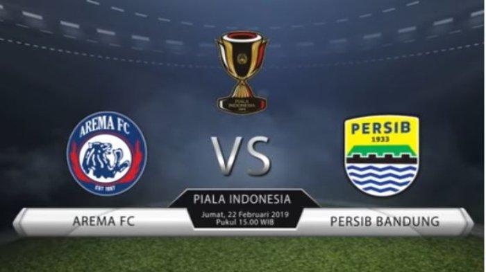 Jadwal, Prediksi Susunan Pemain dan Video Live Streaming Liga Indonesia Arema FC Vs Persib Bandung