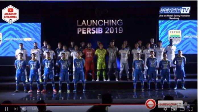 Capture Video Siaran Langsung Launching Persib Bandung