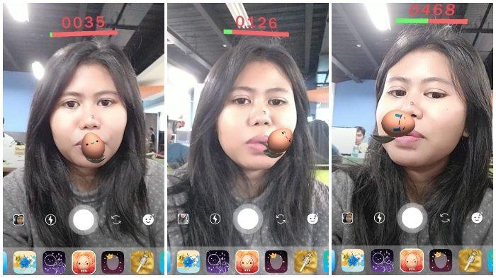 Cara Mendapat Filter Egg Challenge Instagram Mirip Game 17 Agustusan