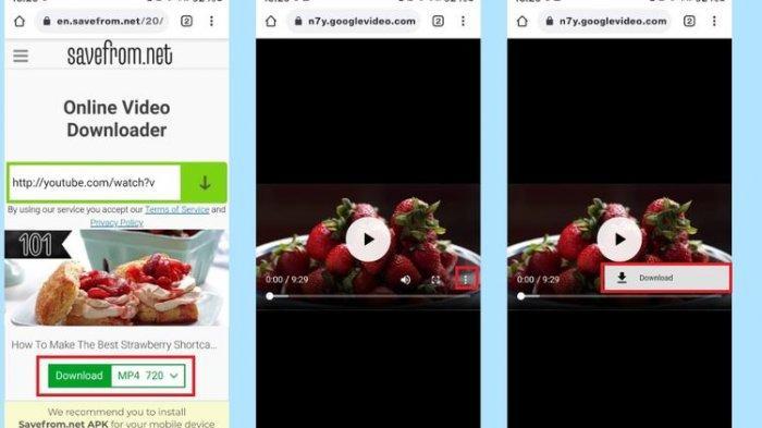 cara upload video dari YouTube ke Status WhatsApp.