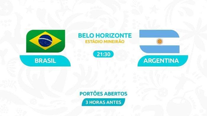 Hasil Semifinal Copa America Brasil Vs Argentina, Tim Samba Unggul 2-0 dan Melaju ke Final