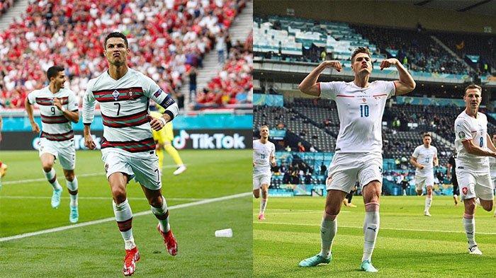 Top Skor EURO 2020: Posisi Ronaldo Tetap Aman meski Sudah Tersingkir, Harry Kane Gagal Menyalip