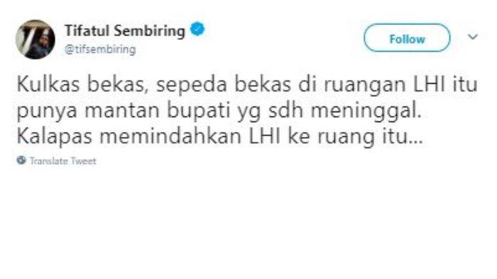 Cuitan Tifatul Sembiring