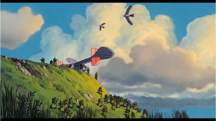 Sinopsis Film Netflix 'Castle in the Sky', Petualangan Mencari Kota Harta yang Mengambang di Langit
