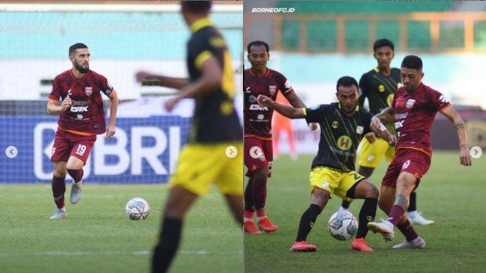 Hasil Babak Pertama Derby Papadaan Liga 1 2021: Borneo FC Bermain Imbang dengan Barito Putera