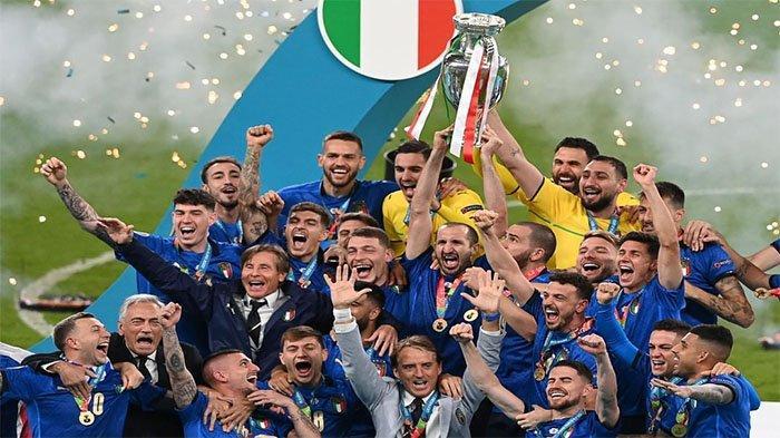 Italia Juara EURO 2020, Berikut Daftar Penghargaan Lengkap: Donnarumma Terbaik, Ronaldo Top Skor
