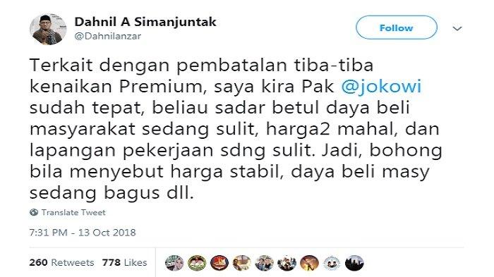 Dahnil Anzar Anggap Langkah Jokowi Tepat