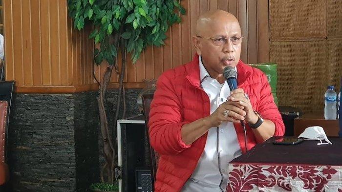 Darmizal MS ditemui wartawan di kawasan Mega Kuningan, Jakarta, Kamis (25/2/2021).