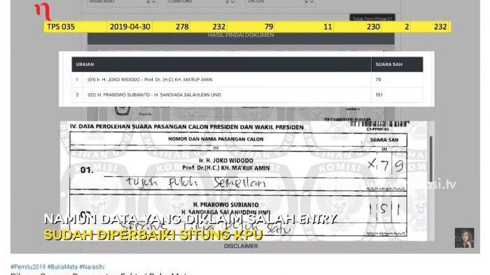 Benarkah Pemilu Curang? Berikut Hasil Penelusuran Bukti Prabowo-Sandi Disandingkan dengan Data KPU