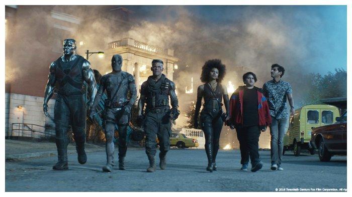 Sinopsis Film Deadpool 2 Superhero Kocak Yang Dibintangi Ryan Reynolds Lihat Aksinya Di Netflix Tribun Wow