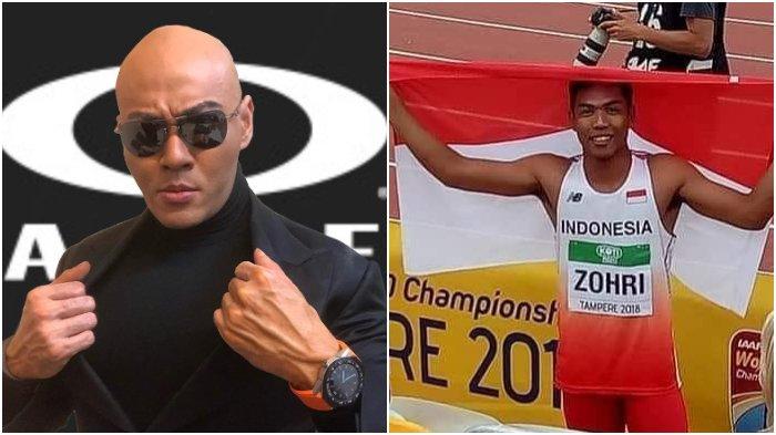 Deddy Corbuzier Sebut Kemenangan Lalu Muhammad Zohri di Ajang Kejuaraan Dunia Hanya Kebetulan