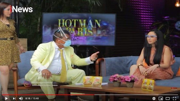Selebgram Denise Chariesta membantah tudingan mendekati anak pengacara kondang Hotman Paris Hutapea, yakni Frank Alexander Hutapea.