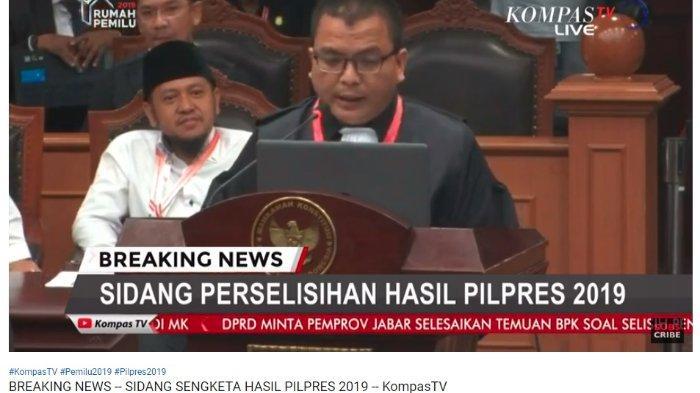 Anggota Tim Kuasa Hukum 02 Prabowo Subianto-Sandiaga Uno, Denny Indrayana menyebutkan pihaknya memiliki beban dalam pembuktian dugaan kecurangan Pilpres 2019.