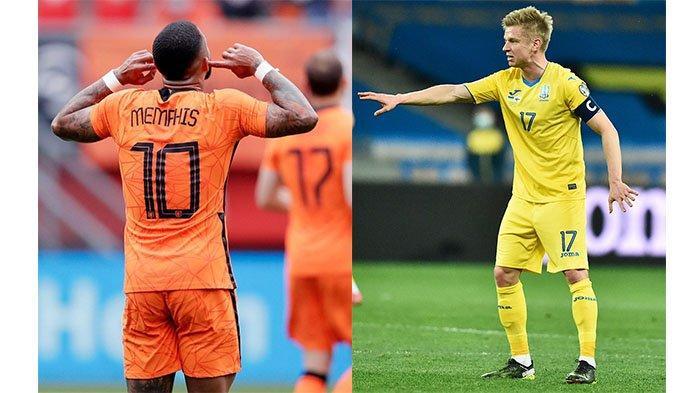 Sedang Berlangsung Belanda Vs Ukraina, Laga Grup C EURO 2020, Live Streaming Mola TV