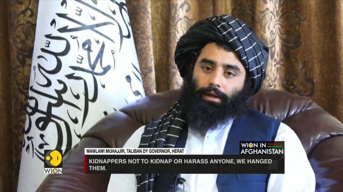 Deputi Gubernur Herat, Mawlawi Shir Ahmad Muhadjir .