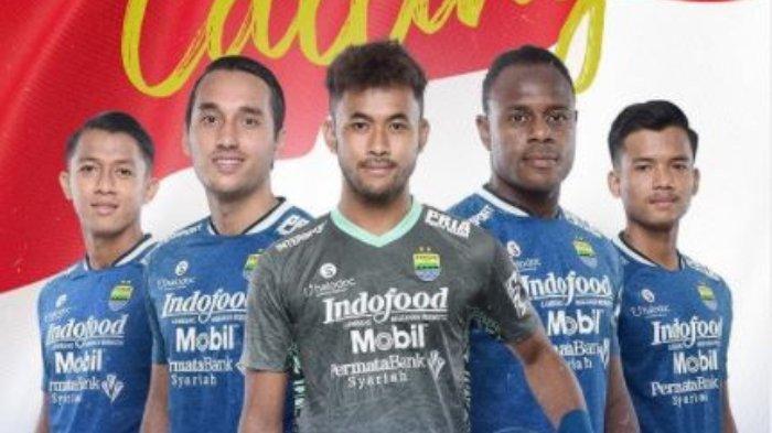 (Dari kiri ke kanan) Lima pemain Persib Bandung yang dipanggil Shin Tae-yong untuk mengikuti TC Timnas Indonesia Senior, Febri Haryadi, Ezra Walian, Aqil Savik, Victor Igbonefo, dan Bayu Fiqri. Bobotoh soroti satu pemain dari kelima nama tersebut.