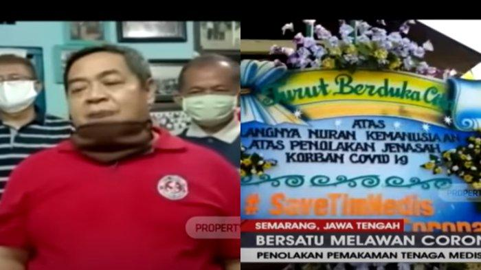 TPU Siwakul Dipenuhi Karangan Bunga Berisi Kecaman, Ketua RW: Kami Tak Pernah Tolak Jenazah Perawat