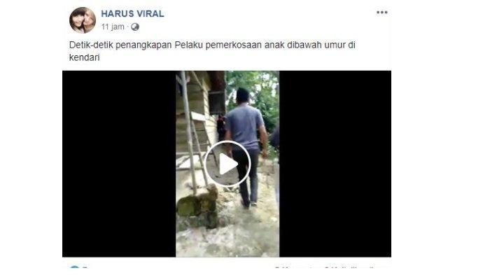 Detik-detik penangkapan mantan anggota TNI yang culik dan cabuli bocah SD