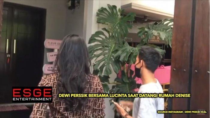 Labrak Denise Chariesta ke Rumahnya, Dewi Perssik Tak Terima Dikatai: Gue Sudah Nekat