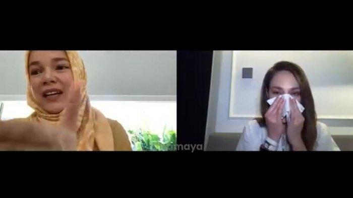 Dengar Cerita Dewi Sandra soal Kekuatan Doa, Luna Maya sampai Merinding: Aku Enggak Bohong