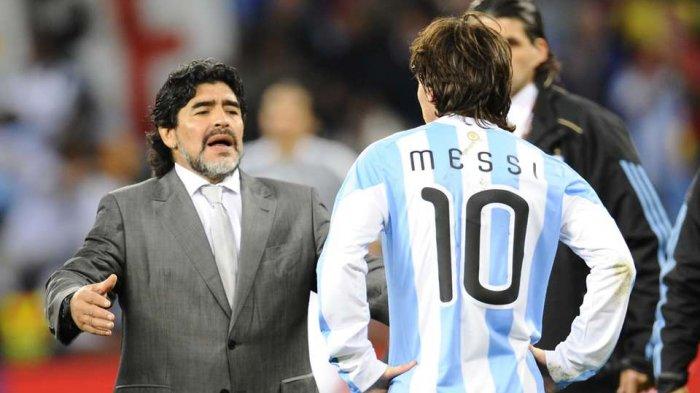 Kabar Duka Legenda Sepak Bola Diego Maradona Meninggal Dunia, Messi hingga Ronaldo Beri Penghormatan