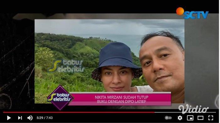 Dipo Latief bersama pacar barunya, pengusaha Tara Amalia Diandra