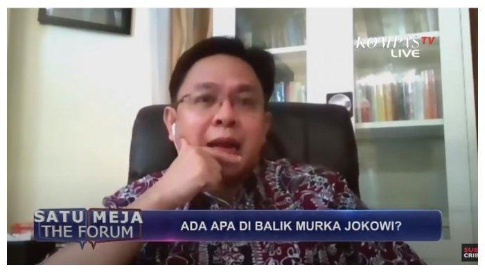 Burhanuddin Muhtadi kepada Jokowi Jika Tak Lakukan Reshuffle: 'Kakean Gluduk Ora Ono Udane'