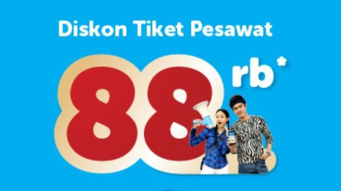 Diskon Tiket Pesawat Rp88 Ribu Hanya dengan Airy App untuk Semua Penerbangan di Indonesia Kapan Saja