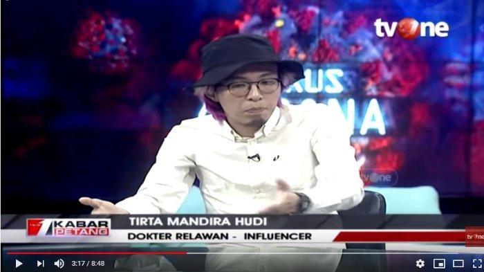 Keras, Dokter Tirta Sindir Para Elite Politik Suka 'Ngegas' di Tengah Corona: Useless, Sudahlah Stop