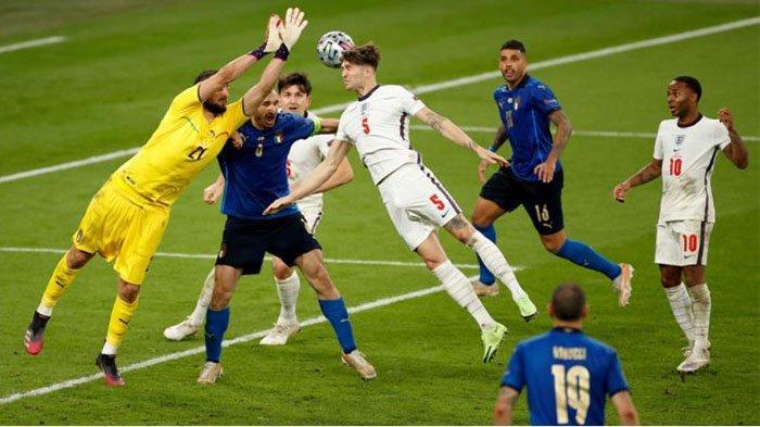 Hasil Final EURO 2020: Inggris Tragis di Wembley, Italia Juara Lewat Drama Adu Penalti